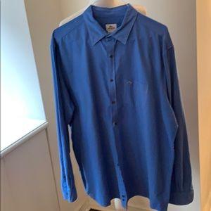 Lacoste Blue button down sport shirt